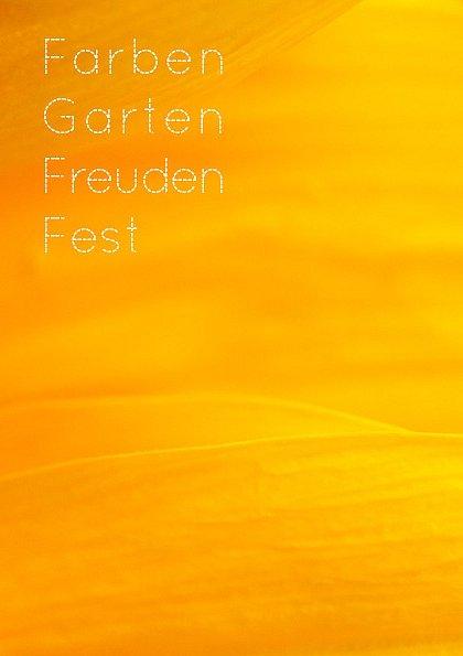 Farben Garten Freuden Fest