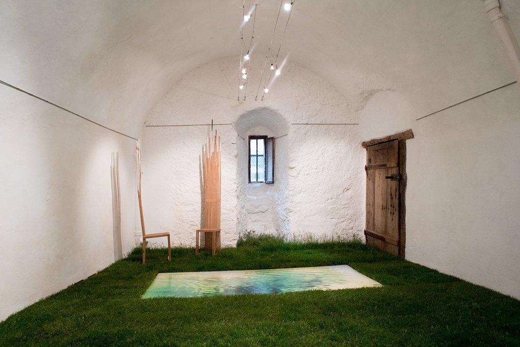 Ausstellung von Gianni VasariHuberKuhlmann und Dersu Huber in der Gewölbe Galerie Biel